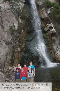 Troop 441 at Sturtevant Waterfall